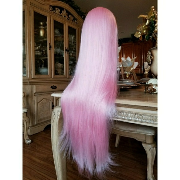 Pink Beauty Lace Front Wig 26-28 inches